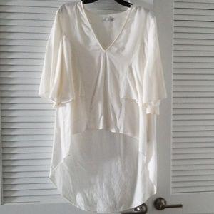 Zara Trf Collection White Tunic M